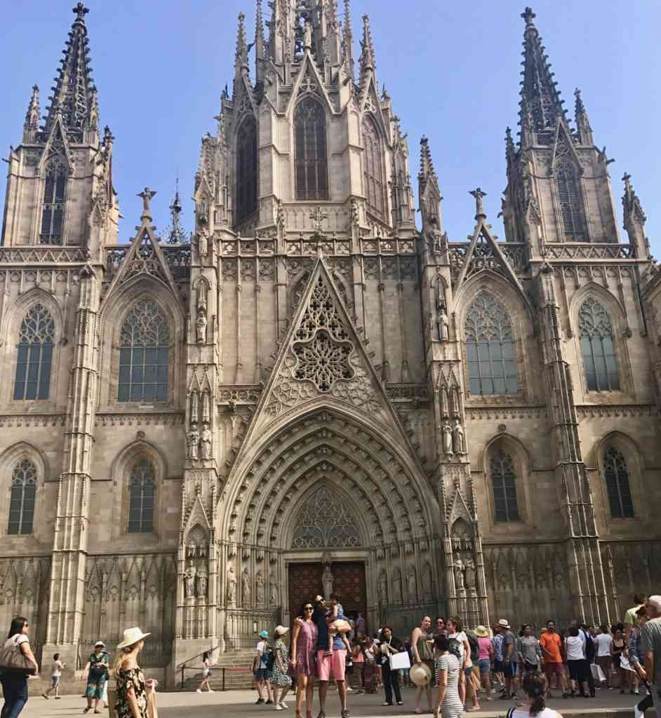 Barcelona's gothic cathedral