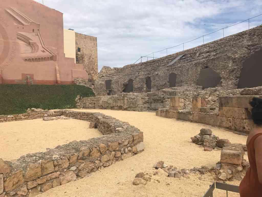 The Roman Circus in Tarragona Spain