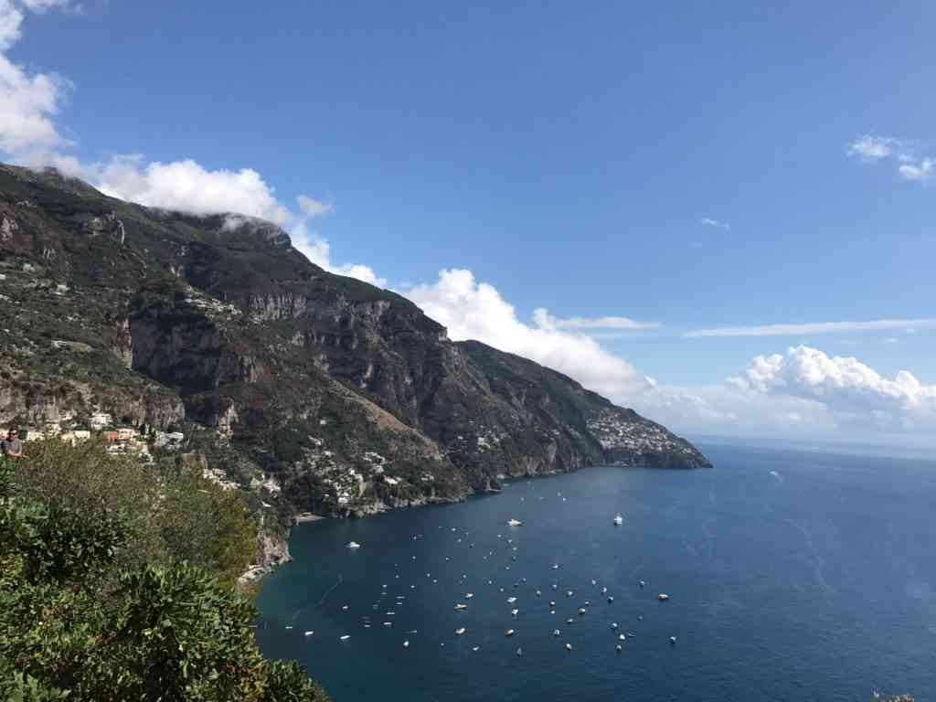 The incredible Amalfi coast