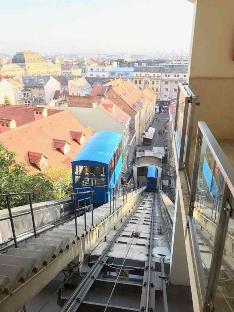 Funicular to the top