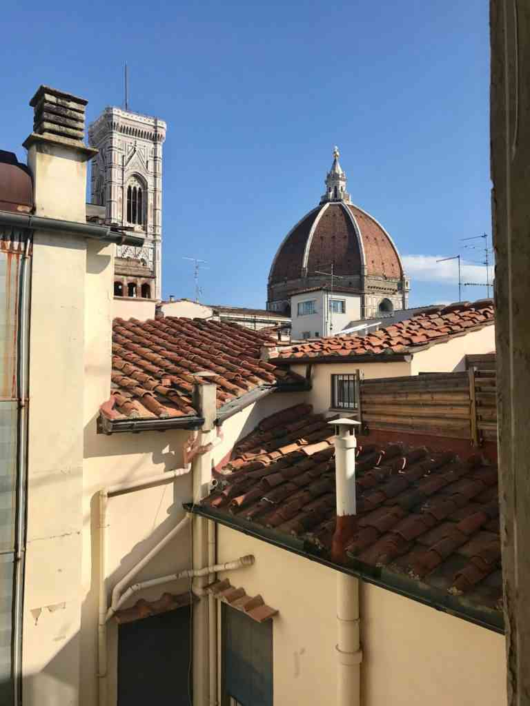Incredible view of the Duomo from our Airbnb