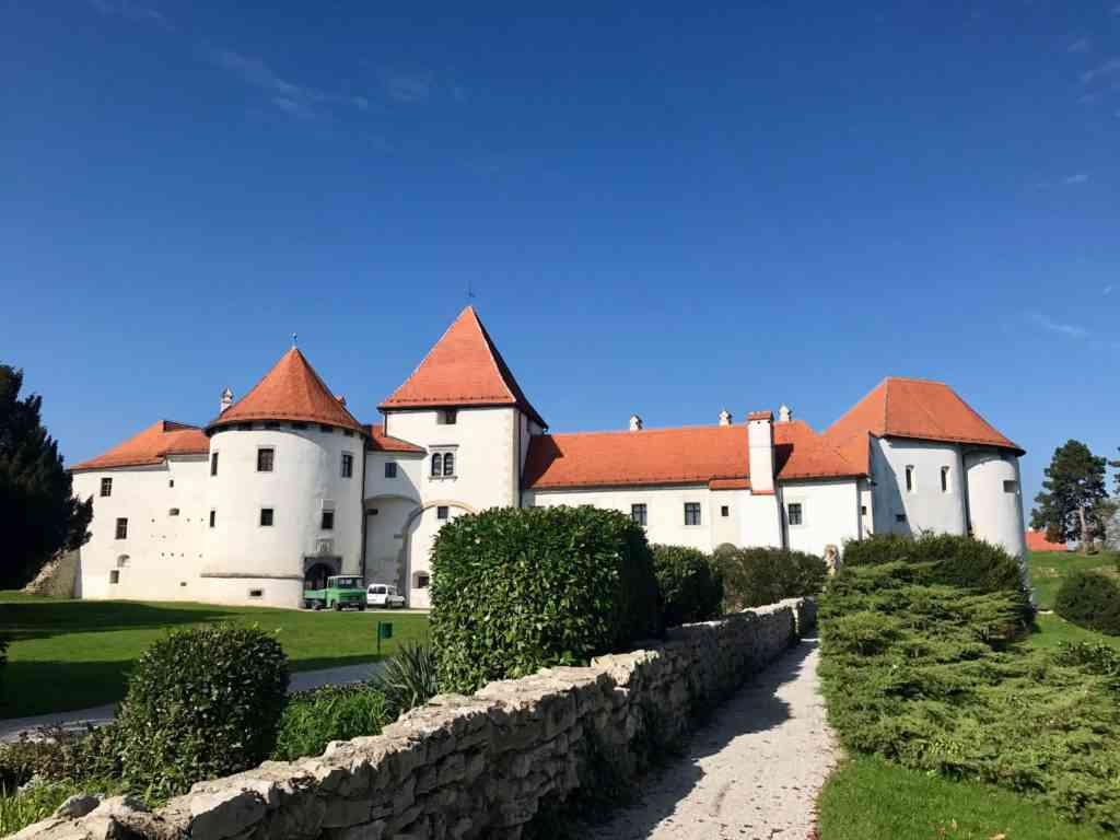 The storybook castle of Varazdin