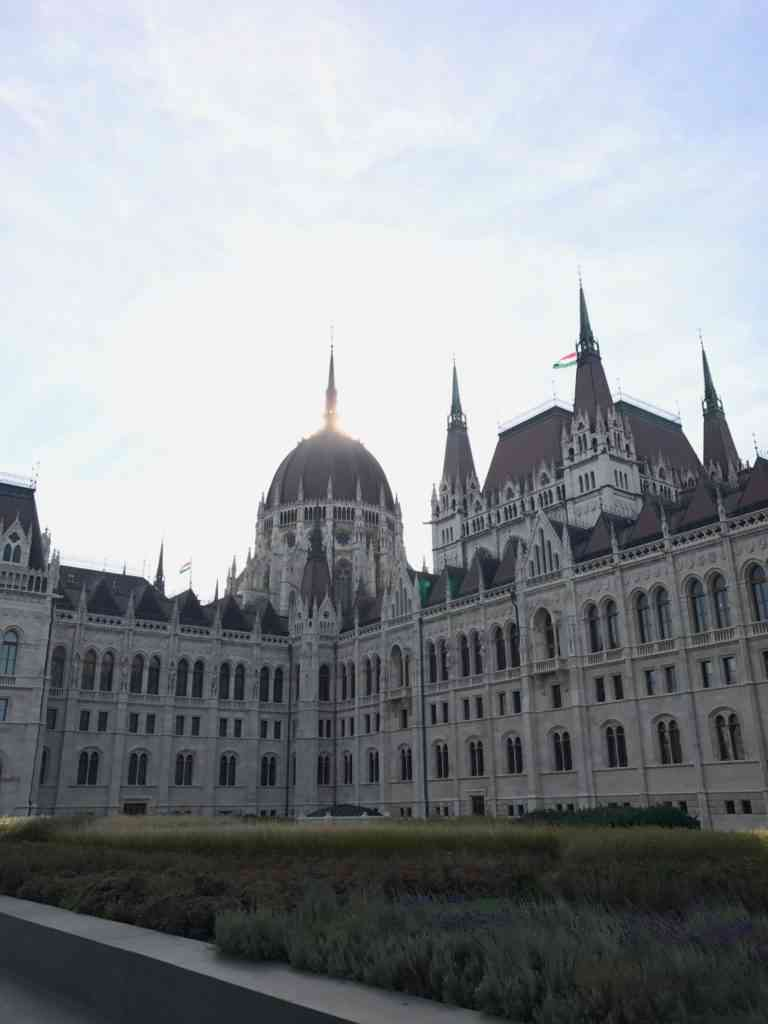 The amazing parliament in Budapest, Hungary building during the day