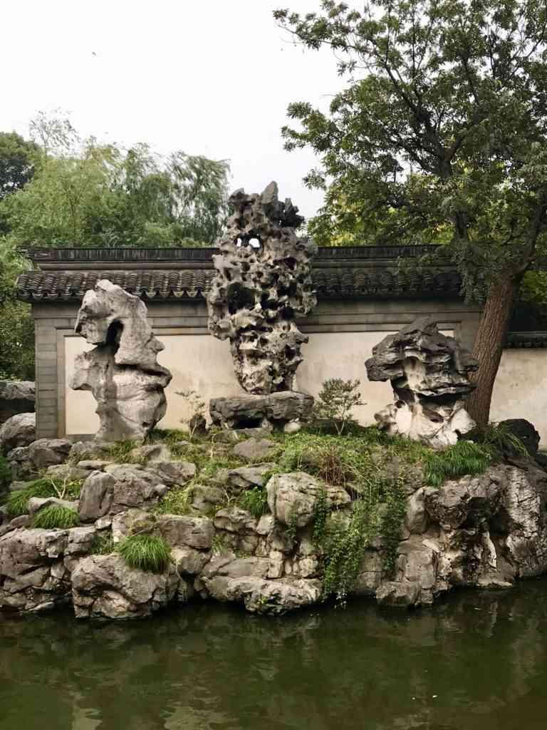 The incredible Jade rock in Yu Garden