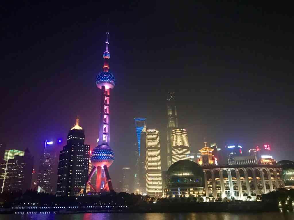 The skyline of Shanghai is just breathtaking