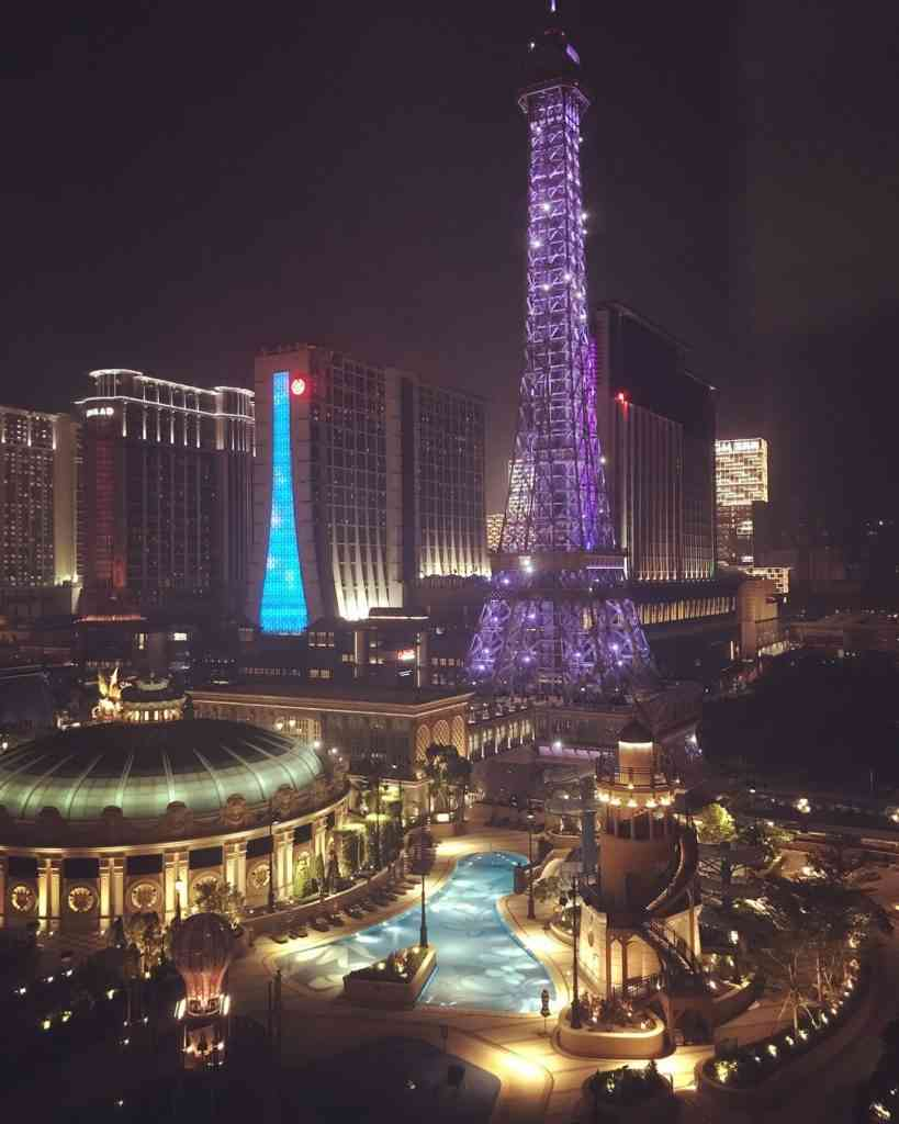 Amazing view from our suite at the Parisian Macau