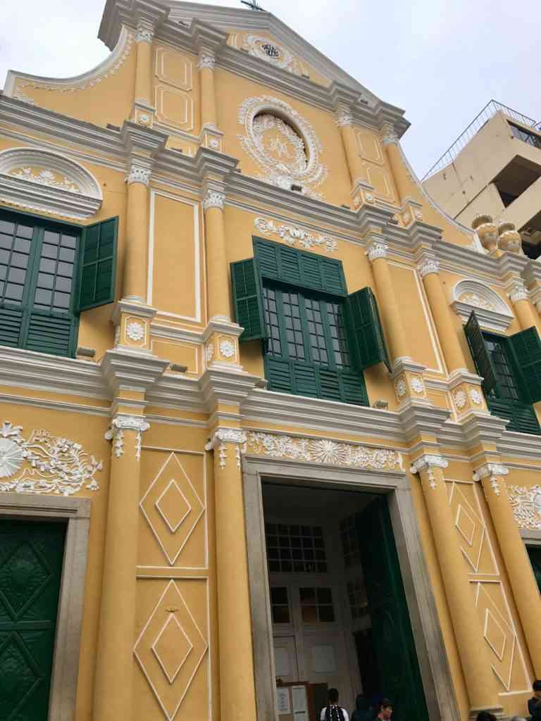 St. Dominic's Church in the center of Macau