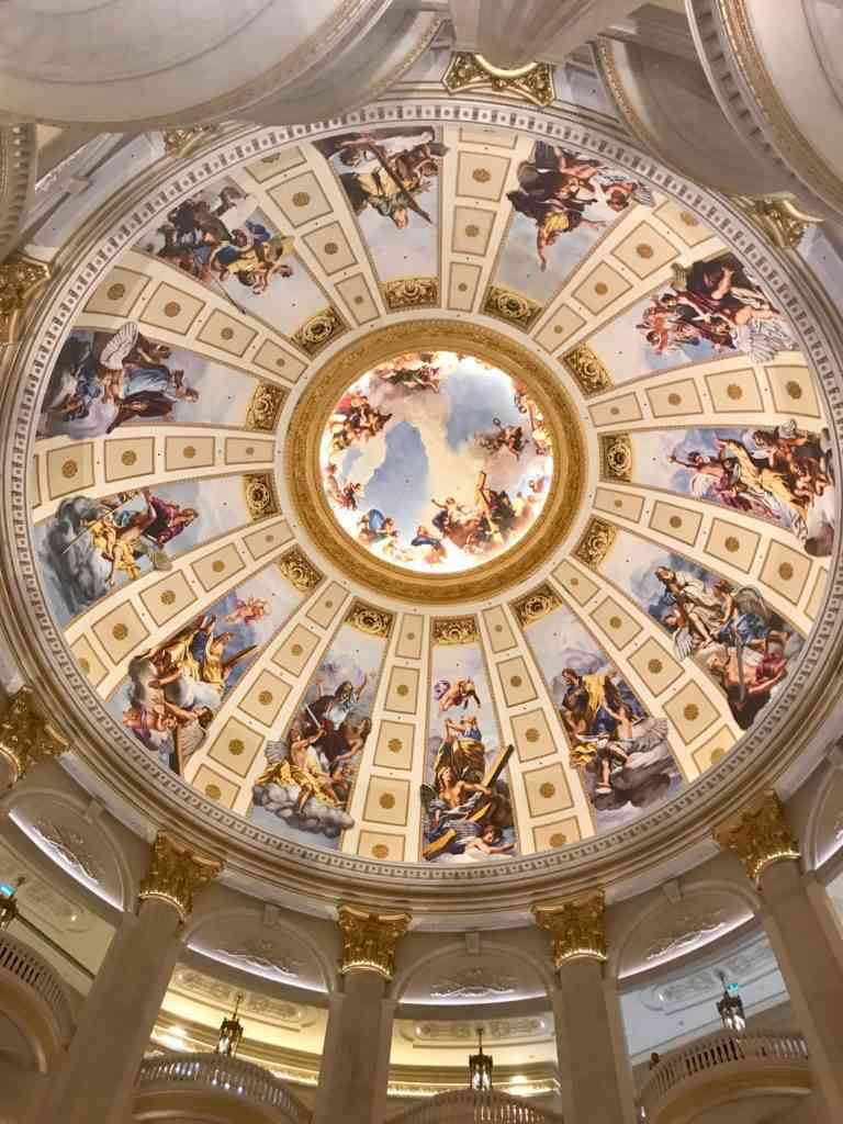 The Venetian Macau's incredible ceiling