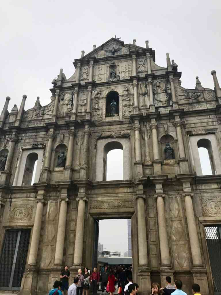The incredible ruins of St. Paul in Macau's Historic Center