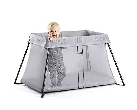 Baby Bjorn Travel Crib. One of our 6 best travel cribs for toddlers.