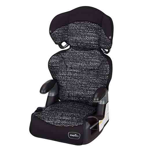 Best Car Seats for Toddlers: Evenflo Highback Booster Car Seat