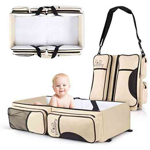 Koalaty 3-in-1 Universal Baby Travel Bassinet and Bag. As part of our post on The 6 Best Travel Bassinet.