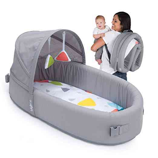 Lulyboo Bassinet To-Go-Metro. As part of our post on The 6 Best Travel Bassinet.