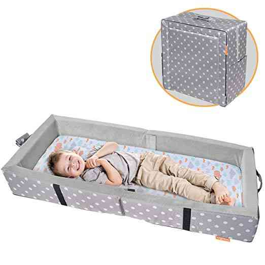 Milliard Portable Travel Bumper Bed. One of our 6 best travel cribs for toddlers.