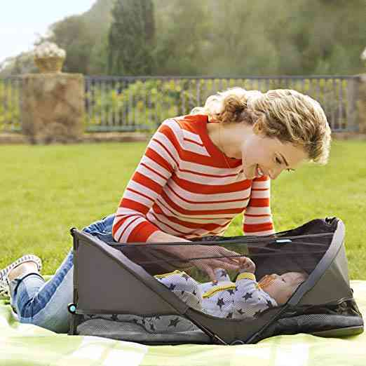 Brica Fold N' Go Travel Bassinet. As part of our post on The 6 Best Travel Bassinet.