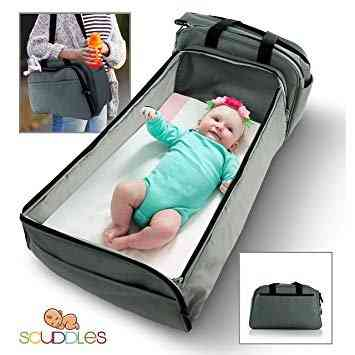 Scuddles 3 in 1 Portable Bassinet for Baby. As part of our post on The 6 Best Travel Bassinets.