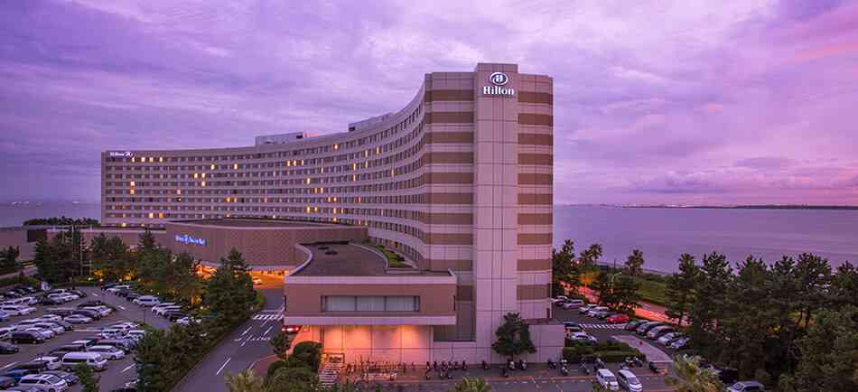 Hilton Tokyo Bay kid-friendly Tokyo hotel