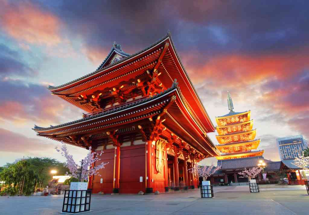 tokyo - sensoji-ji, temple in asakusa, japan Tokyo with kids