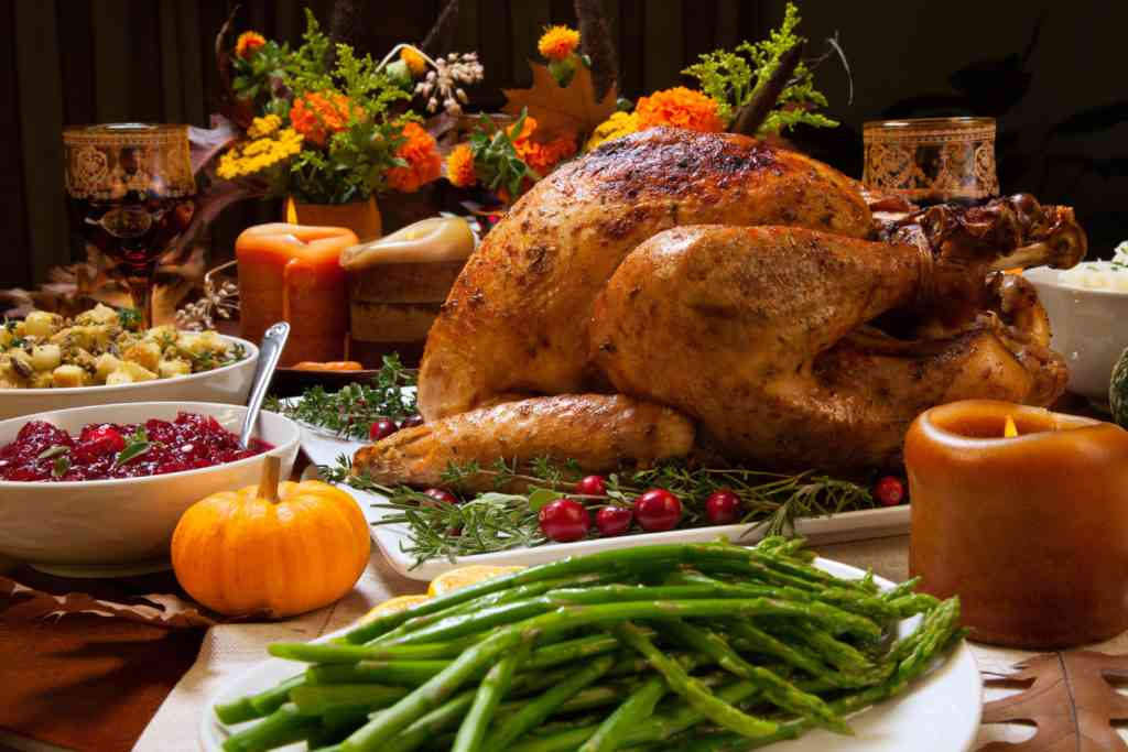 Thanksgiving meal Thanksgiving Vacation Ideas for Families