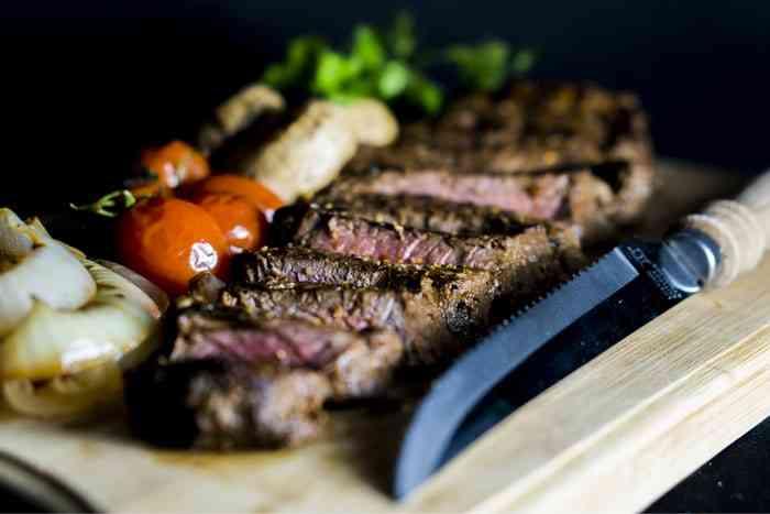 Beef steak - For decorative purposes