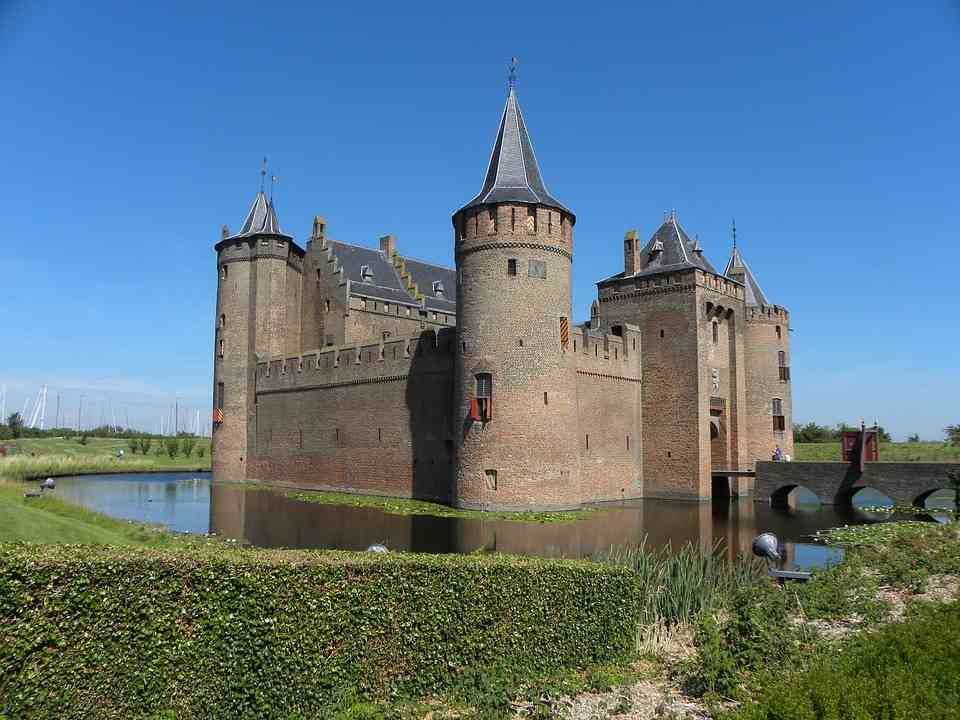 Muiderslot is a fantastic day trip for families in Amsterdam
