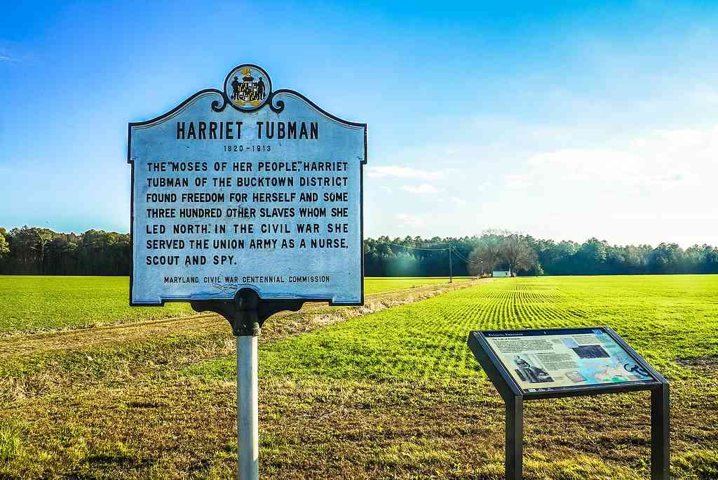 Th Tubman Byway is one of the best places to visit during COVID