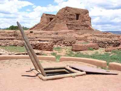 Pacos Pueblo is one of the best places to visit during COVID