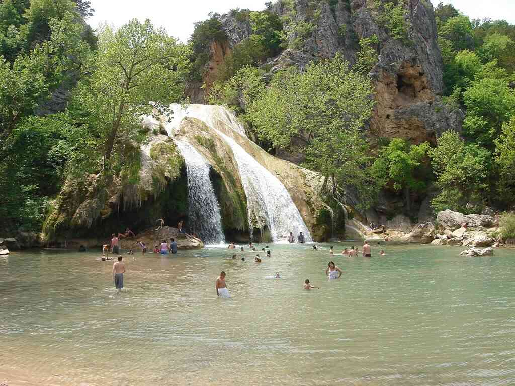 The Turner Falls Park is one of the best places to visit during COVID