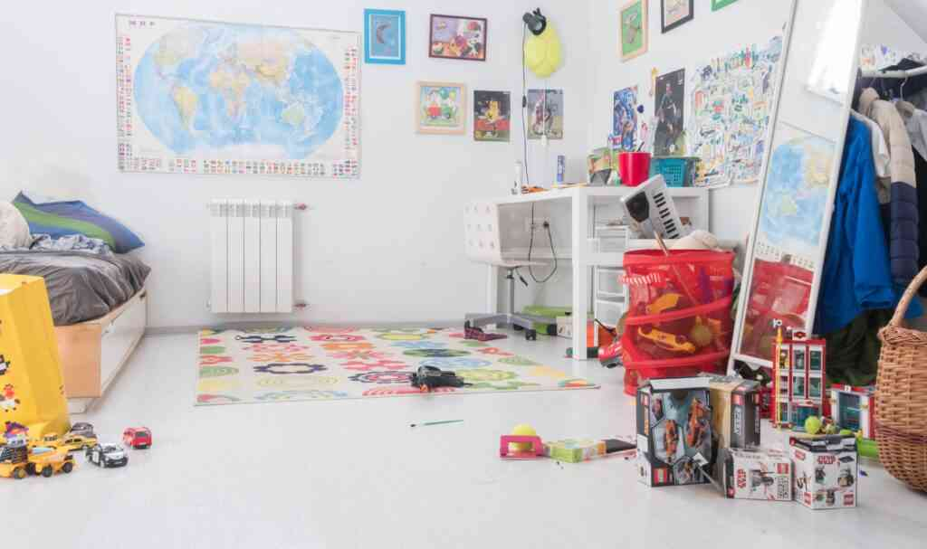 redecorate your kids room as a staycation idea