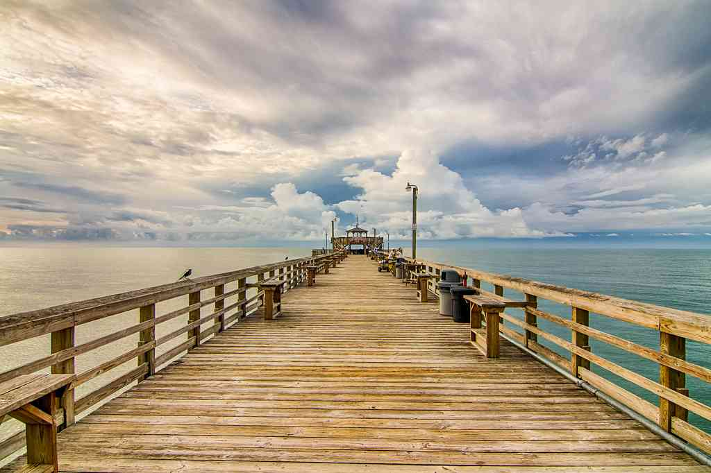 Cherry Grove Pier is one of the best things to do in Myrtle Beach with kids