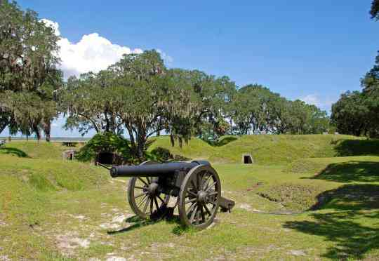 Fort McAllister State Park is one of the best things to do in Charleston with kids