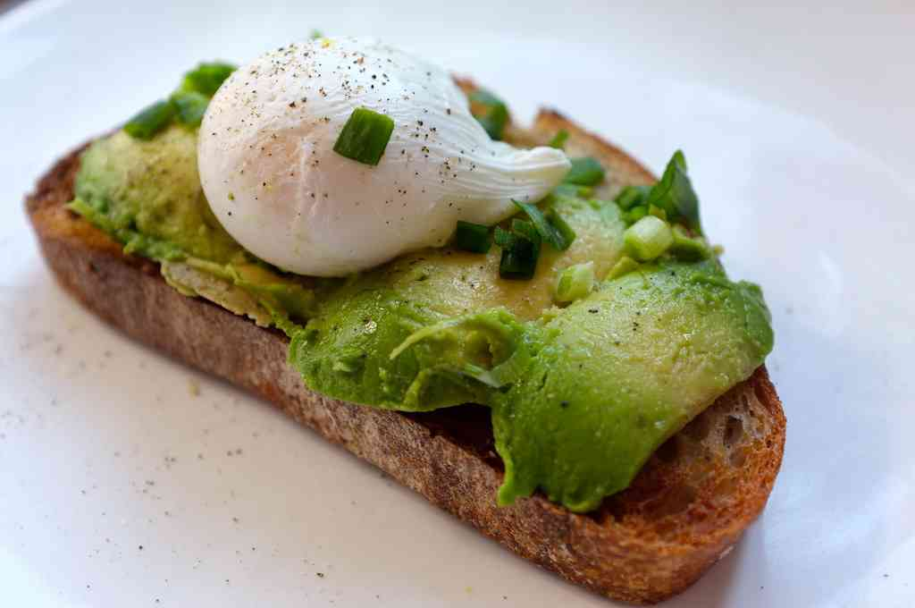 Avocado Toast is one of the best things to eat in Melbourne with kids