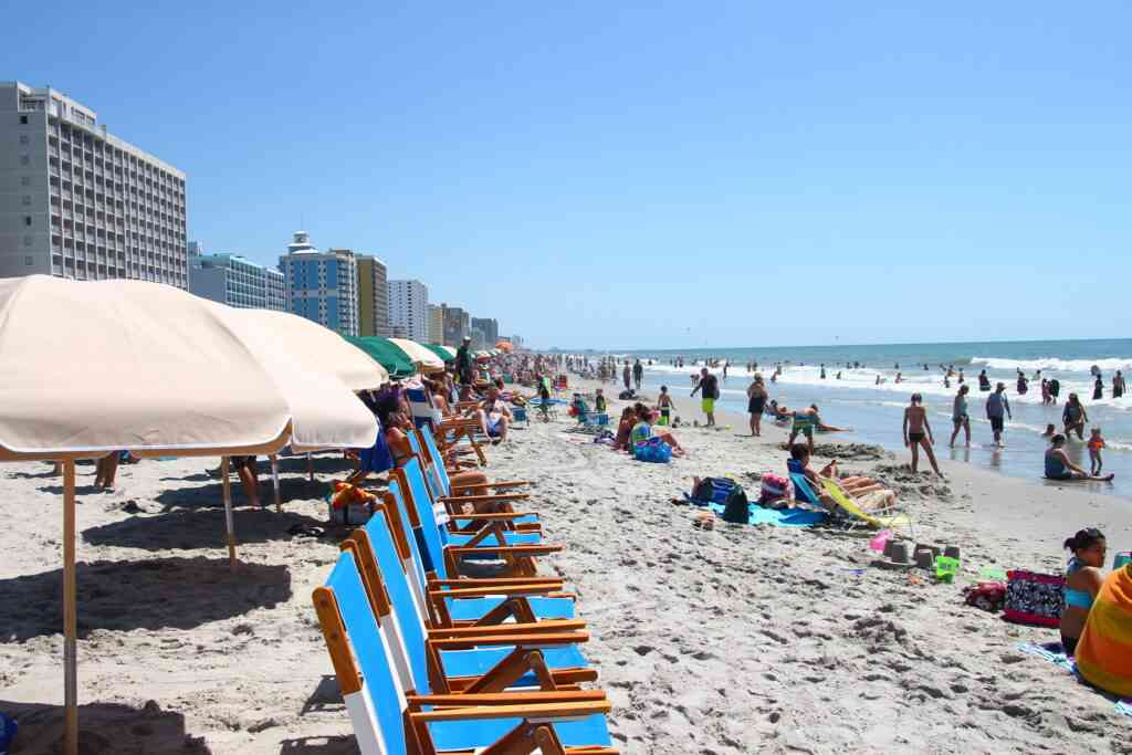 Spend the day at Myrtle Beach with kids