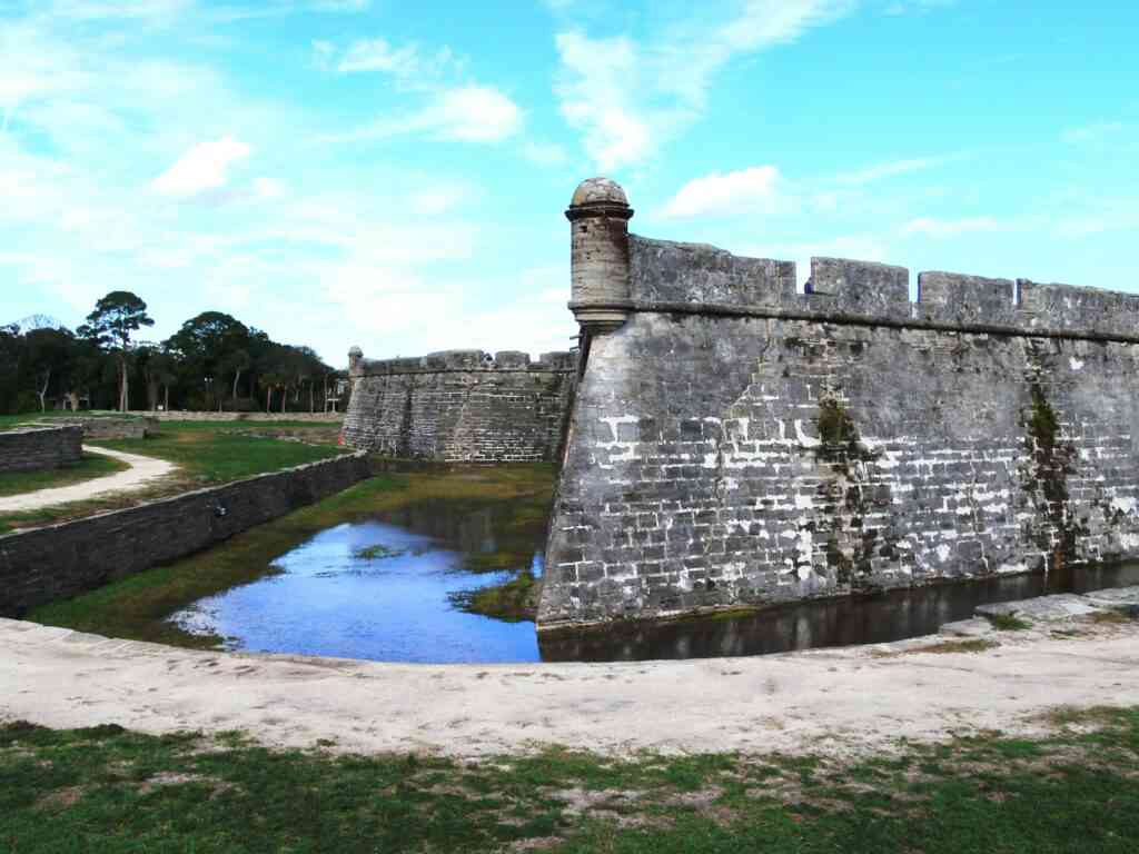 Castillo de San Marcos is one of the best places to visit in St Augustine with kids