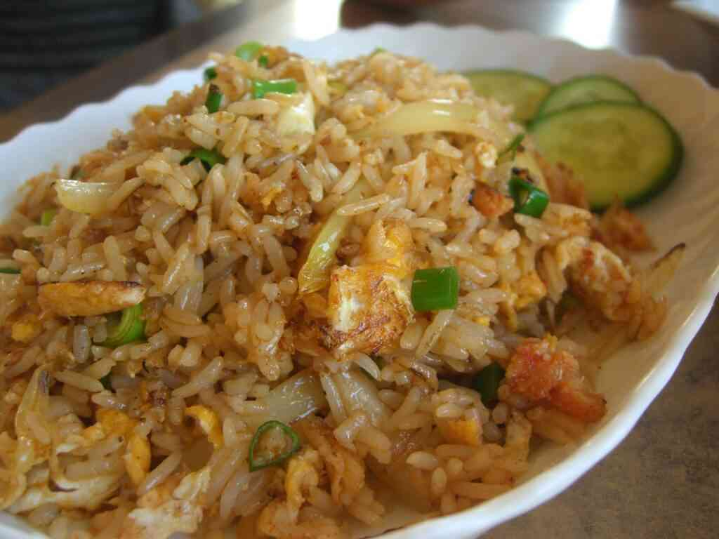 Crab rice is one of the best things to eat in Charleston with kids