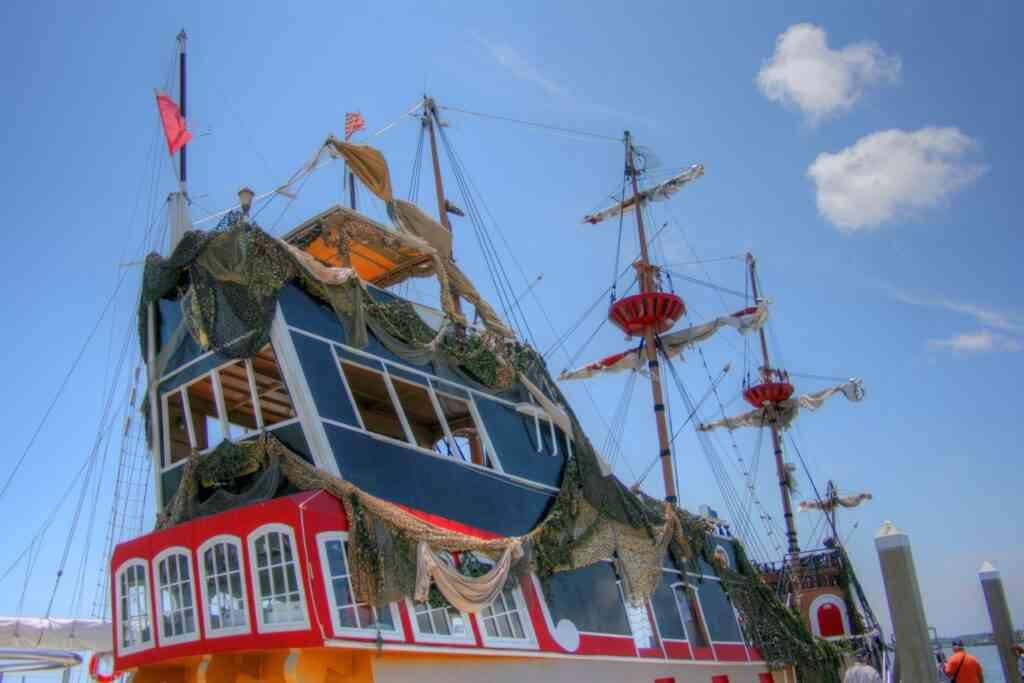Black Raven Pirate Ship is one of the best attractions to visit in St Augustine with kids