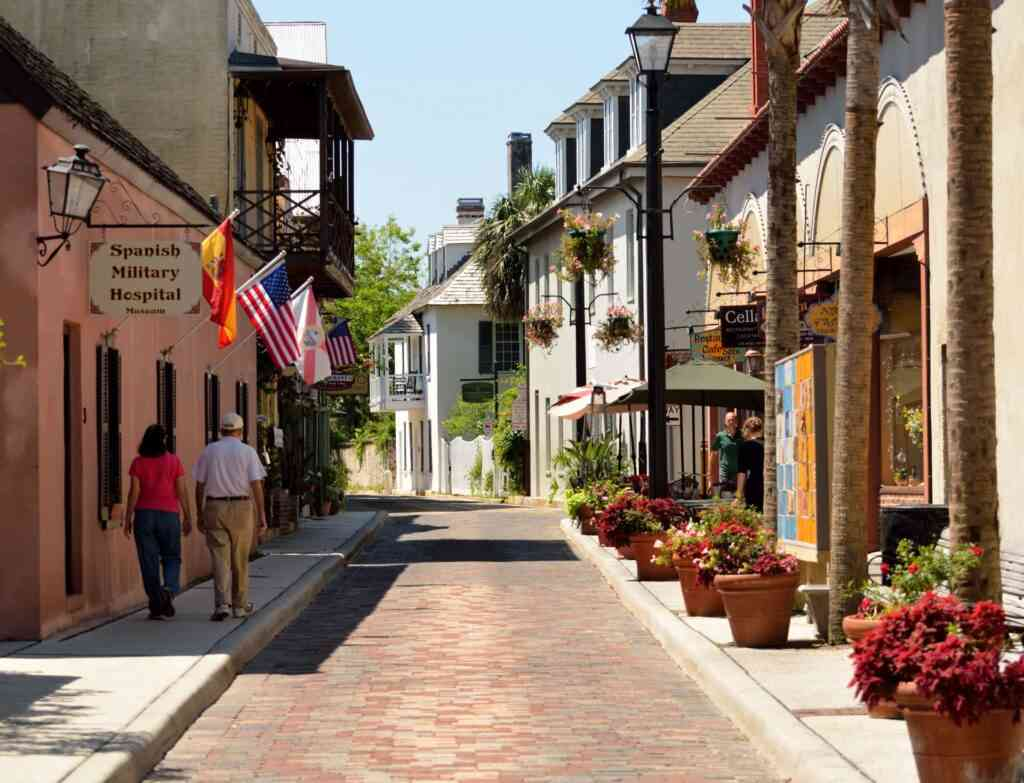 one of the best places to stay in St. Augustine is the historic district