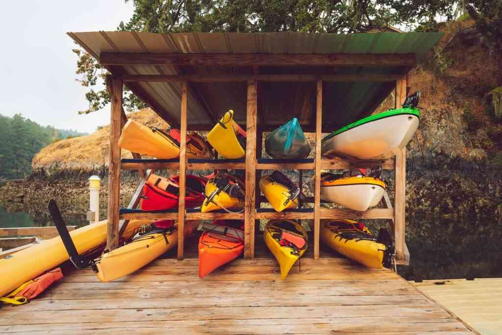 Kayaking is one of the best things to do in Myrtle Beach with kids