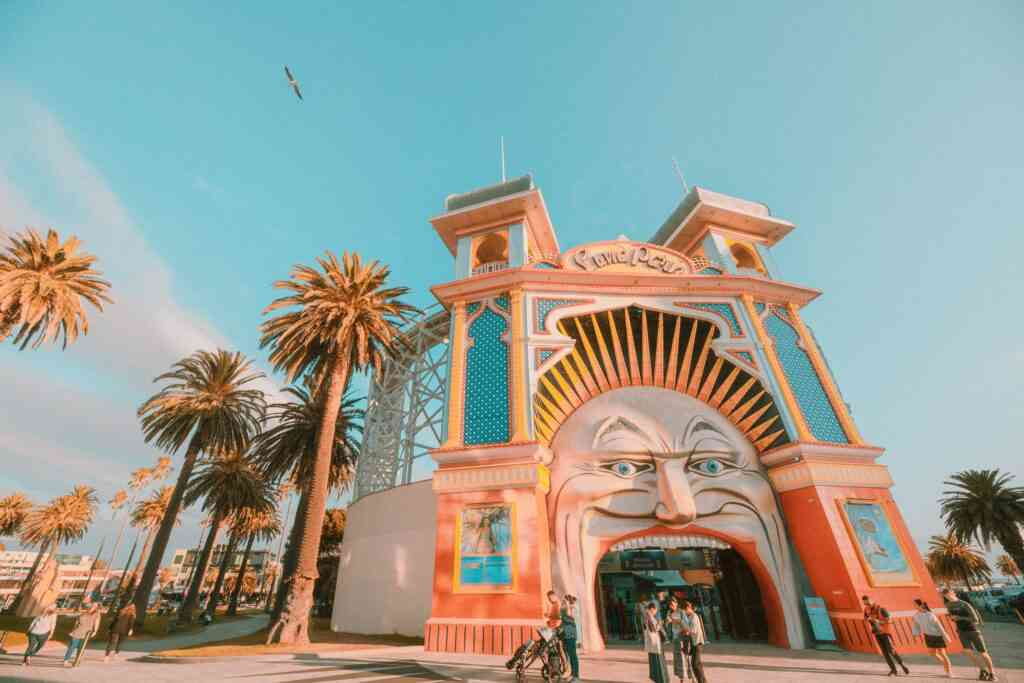 Luna Park is one of the best places to visit in Melbourne with kids