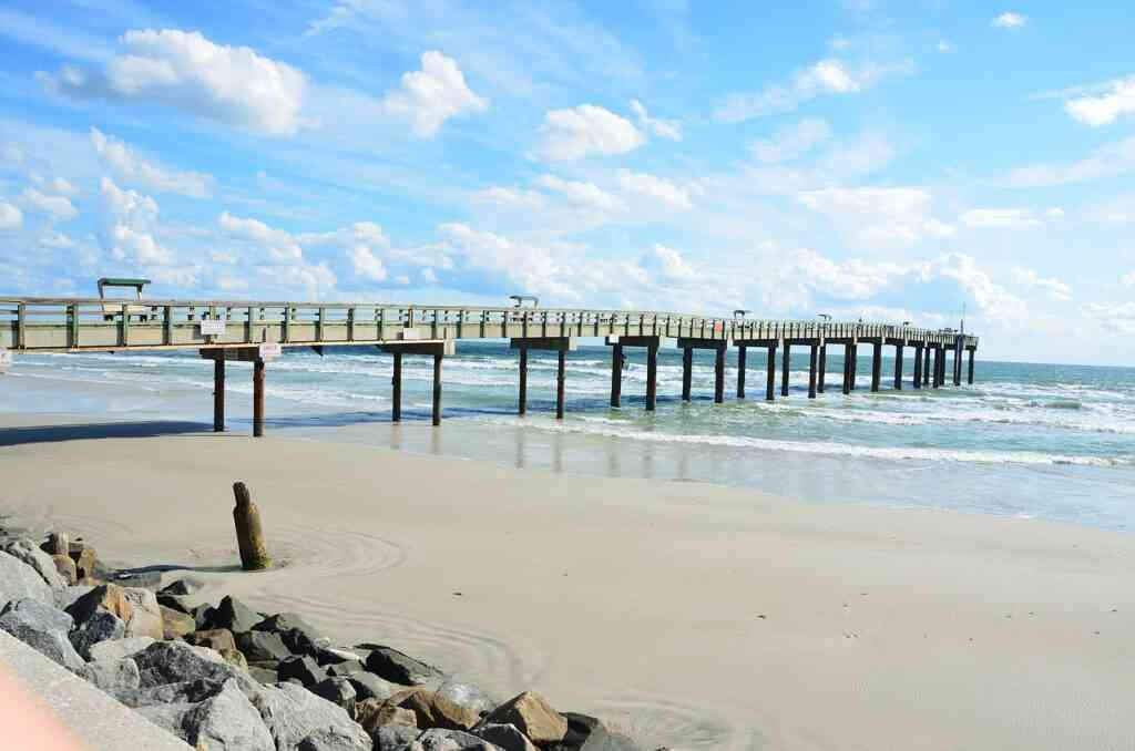 St Augustine Beach is one of the most beautiful places to visit in St Augustne with kids