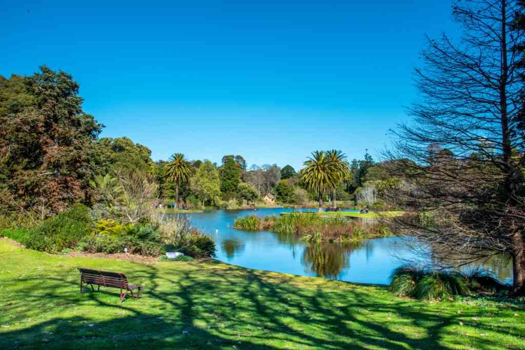 The Royal Botanical Gardens of Victoria is one of the best places to visit in Melbourne with kids